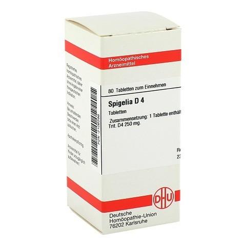 SPIGELIA D 4 Tabletten 80 Stück N1