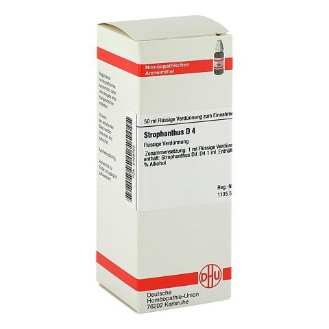 STROPHANTHUS D 4 Dilution 50 Milliliter N1