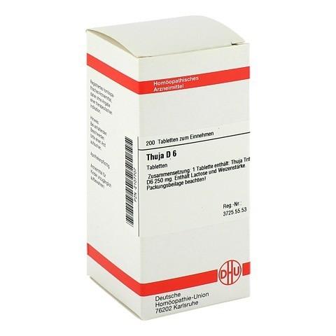 THUJA D 6 Tabletten 200 Stück N2