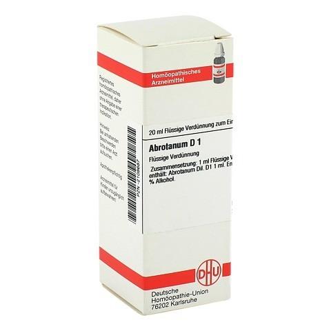 ABROTANUM D 1 Dilution 20 Milliliter N1