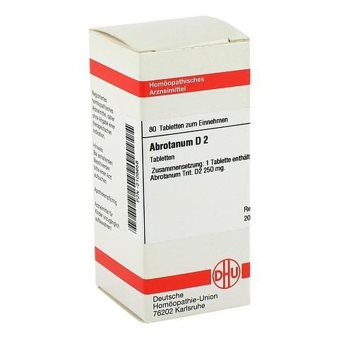 ABROTANUM D 2 Tabletten 80 Stück N1
