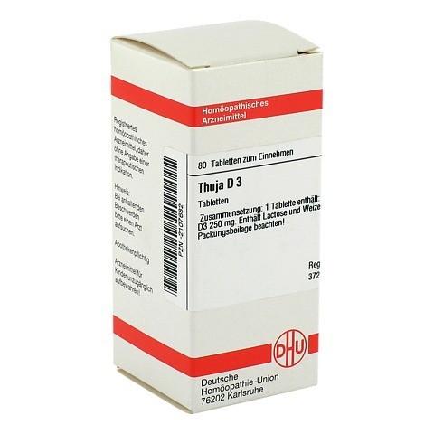 THUJA D 3 Tabletten 80 Stück N1