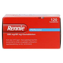 Rennie 120 Stück - Oberseite