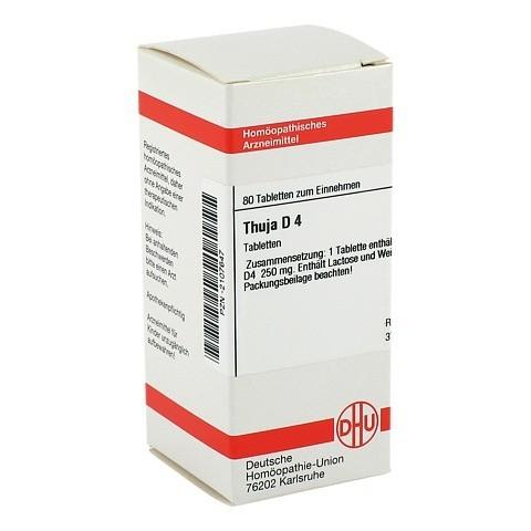 THUJA D 4 Tabletten 80 Stück N1