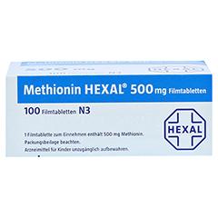 METHIONIN HEXAL 500 mg Filmtabletten 100 Stück N3 - Oberseite