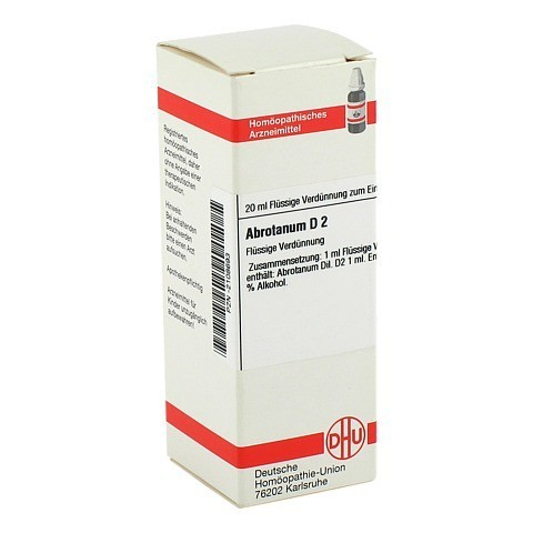 ABROTANUM D 2 Dilution 20 Milliliter N1