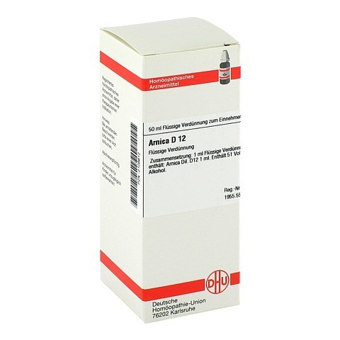ARNICA D 12 Dilution 50 Milliliter N1