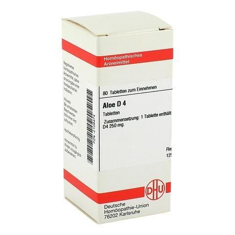 ALOE D 4 Tabletten 80 Stück N1