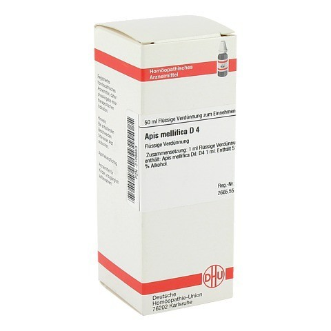 APIS MELLIFICA D 4 Dilution 50 Milliliter N1