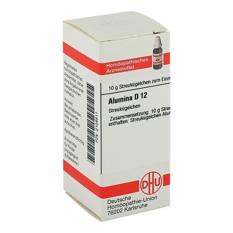 ALUMINA D 12 Globuli 10 Gramm N1