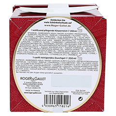 R&G Fleur d'Osmanthus Set 200ml Duschg.+200ml Kör. 1 Packung - Unterseite