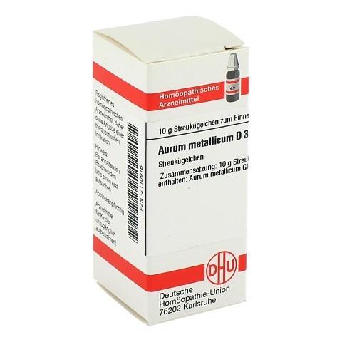 AURUM METALLICUM D 30 Globuli 10 Gramm N1