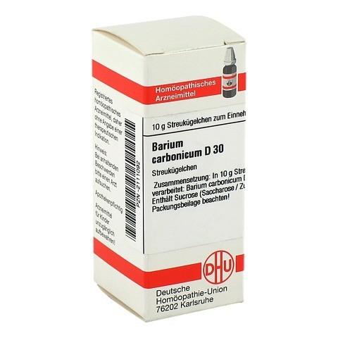 BARIUM CARBONICUM D 30 Globuli 10 Gramm N1