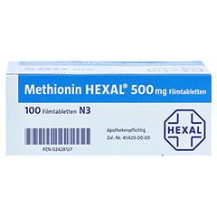 METHIONIN HEXAL 500 mg Filmtabletten 100 Stück N3 - Unterseite