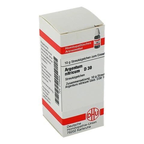 ARGENTUM NITRICUM D 30 Globuli 10 Gramm N1