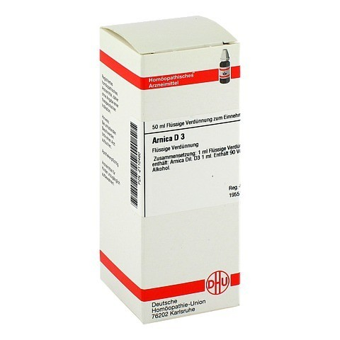 ARNICA D 3 Dilution 50 Milliliter N1