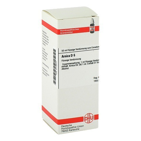 ARNICA D 6 Dilution 50 Milliliter N1