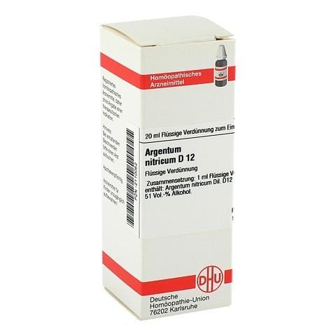 ARGENTUM NITRICUM D 12 Dilution 20 Milliliter N1