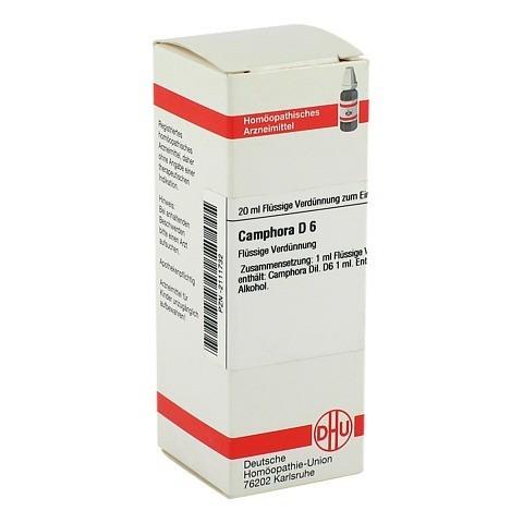 CAMPHORA D 6 Dilution 20 Milliliter N1