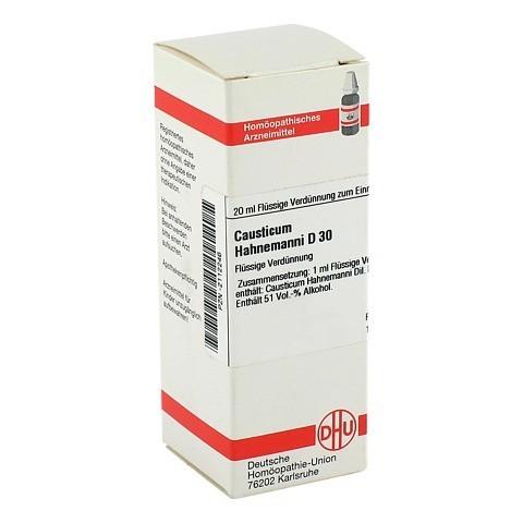 CAUSTICUM HAHNEMANNI D 30 Dilution 20 Milliliter N1