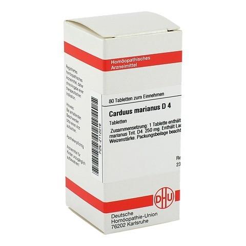 CARDUUS MARIANUS D 4 Tabletten 80 Stück N1