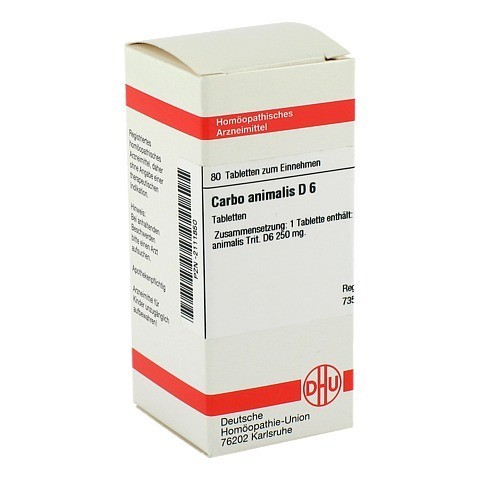 CARBO ANIMALIS D 6 Tabletten 80 Stück N1