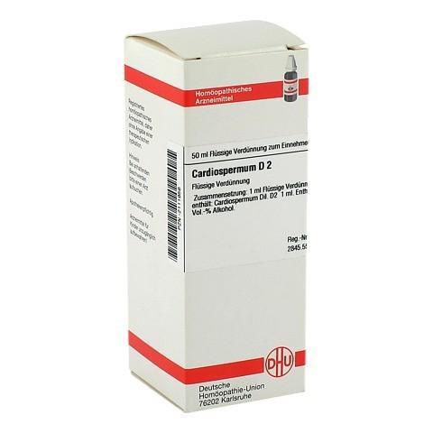 CARDIOSPERMUM D 2 Dilution 50 Milliliter N1