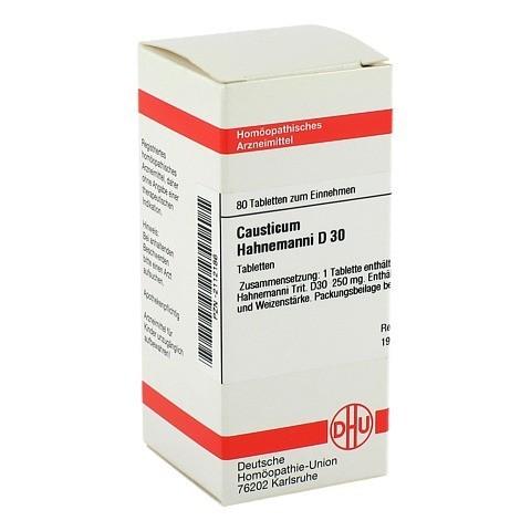 CAUSTICUM HAHNEMANNI D 30 Tabletten 80 Stück