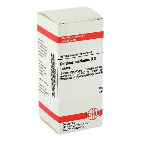 CARDUUS MARIANUS D 3 Tabletten 80 Stück N1