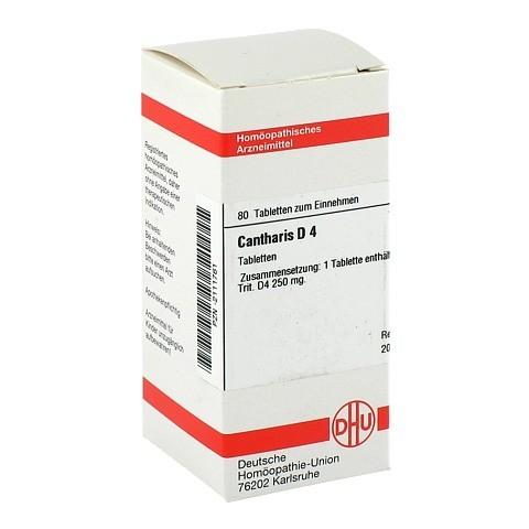 CANTHARIS D 4 Tabletten 80 Stück N1