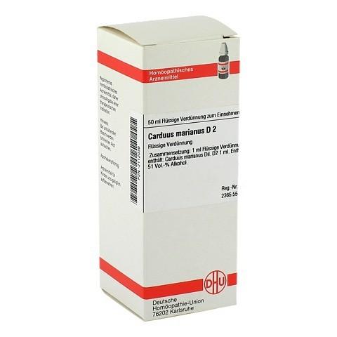 CARDUUS MARIANUS D 2 Dilution 50 Milliliter N1