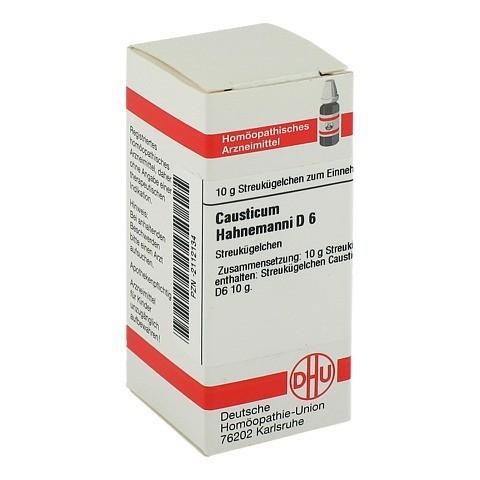 CAUSTICUM HAHNEMANNI D 6 Globuli 10 Gramm N1