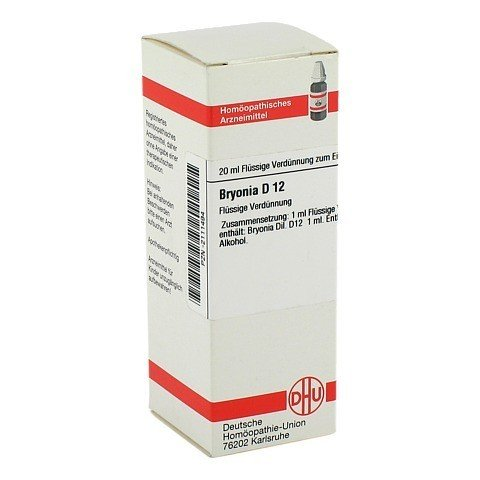 BRYONIA D 12 Dilution 20 Milliliter N1