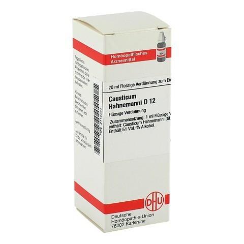 CAUSTICUM HAHNEMANNI D 12 Dilution 20 Milliliter N1