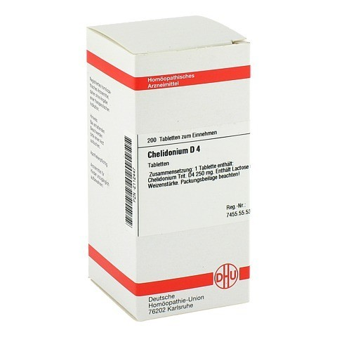 CHELIDONIUM D 4 Tabletten 200 Stück N2
