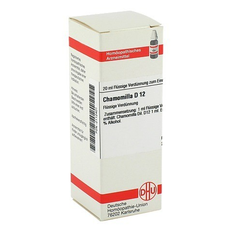 CHAMOMILLA D 12 Dilution 20 Milliliter N1