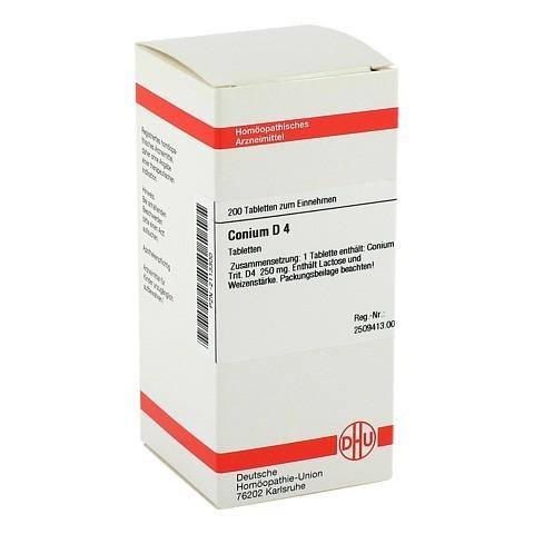 CONIUM D 4 Tabletten 200 Stück N2