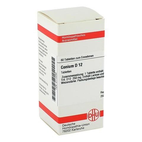 CONIUM D 12 Tabletten 80 Stück N1