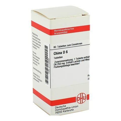 CHINA D 6 Tabletten 80 Stück N1