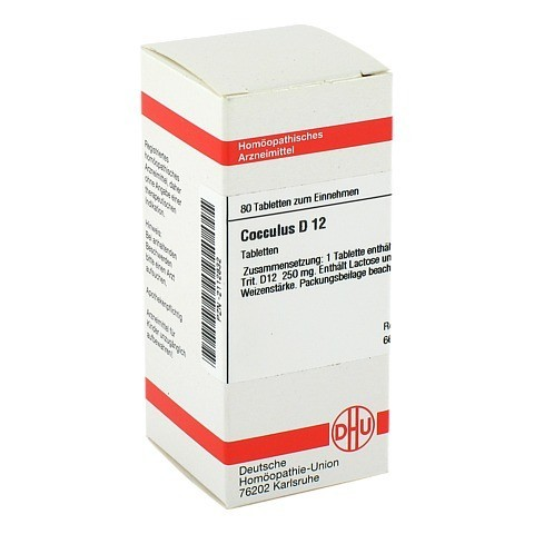 COCCULUS D 12 Tabletten 80 Stück N1