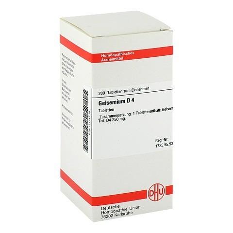 GELSEMIUM D 4 Tabletten 200 Stück N2