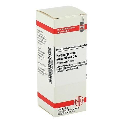 HARPAGOPHYTUM PROCUMBENS D 6 Dilution 20 Milliliter N1