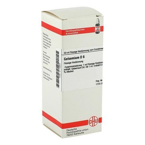 GELSEMIUM D 6 Dilution 50 Milliliter N1