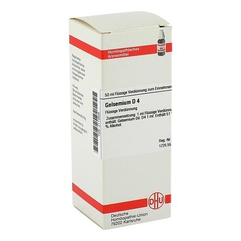 GELSEMIUM D 4 Dilution 50 Milliliter N1