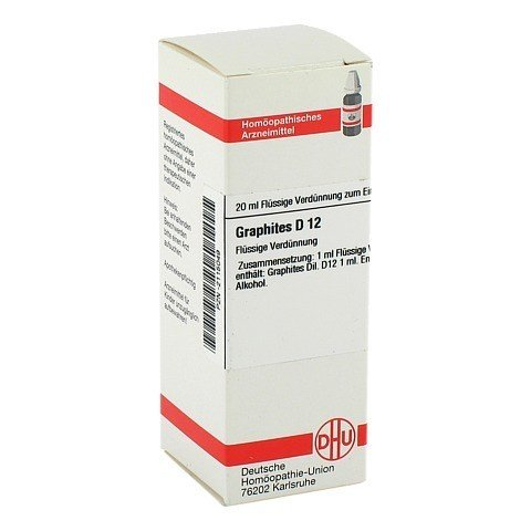 GRAPHITES D 12 Dilution 20 Milliliter N1