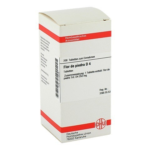 FLOR DE PIEDRA D 4 Tabletten 200 Stück N2