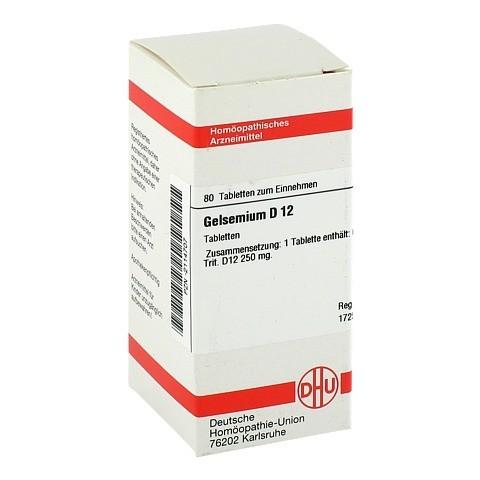 GELSEMIUM D 12 Tabletten 80 Stück N1