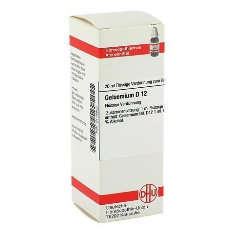 GELSEMIUM D 12 Dilution 20 Milliliter N1