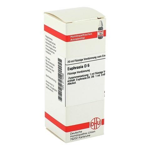 EUPHRASIA D 6 Dilution 20 Milliliter N1