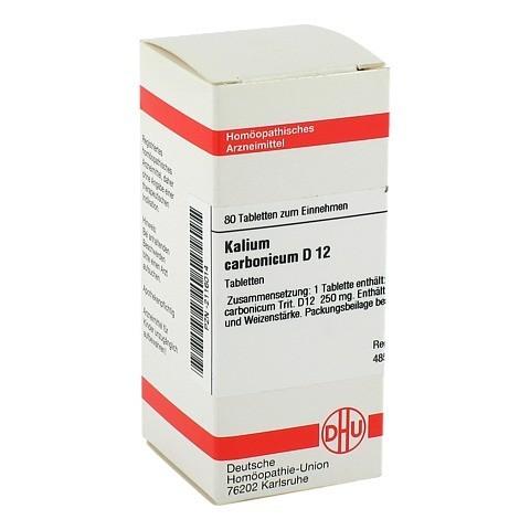 KALIUM CARBONICUM D 12 Tabletten 80 Stück N1